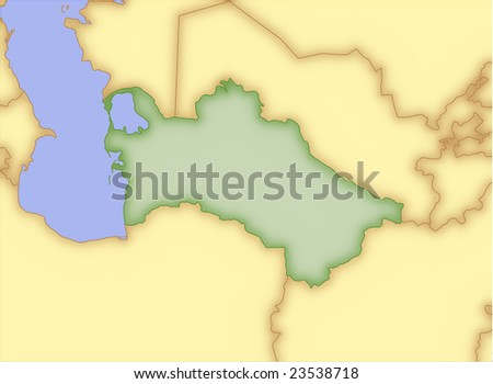outline map of china and surrounding countries. blank map of china and