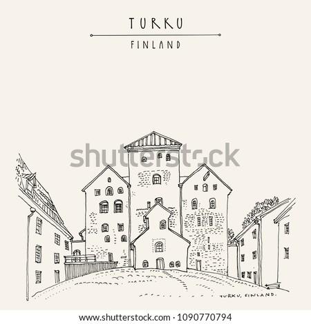 turku castle  turun linna  in
