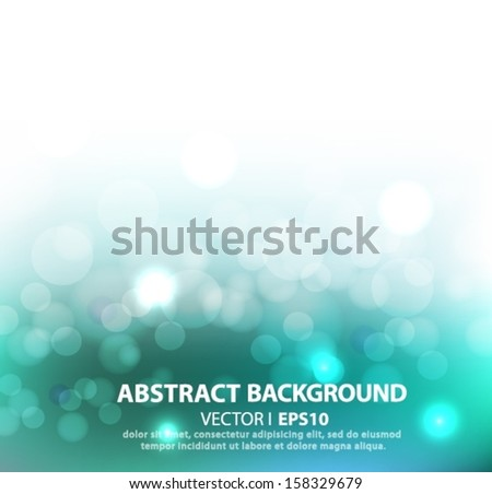 turquoise abstract vector