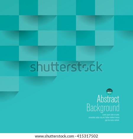 stock-vector-turquoise-geometric-vector-background-can-be-used-in-cover-design-book-design-website-background