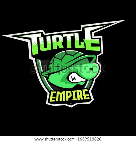 turtle logo logo for e sport