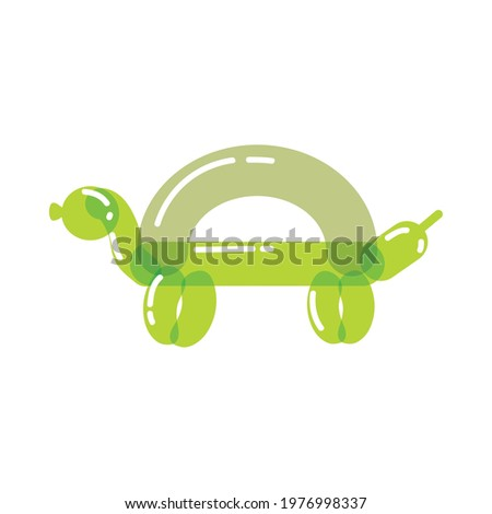 turtle shaped balloon