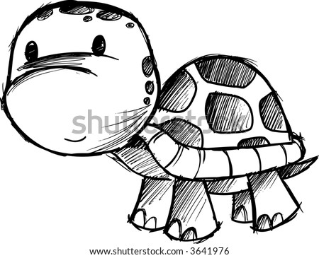 Sea Turtle Sketches http://www.shutterstock.com/pic-3641976/stock-vector-turtle-sketch-vector-illustration.html
