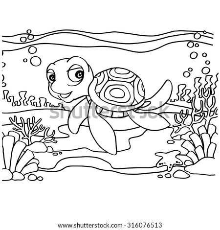 Painted Turtle clip art Free Vector