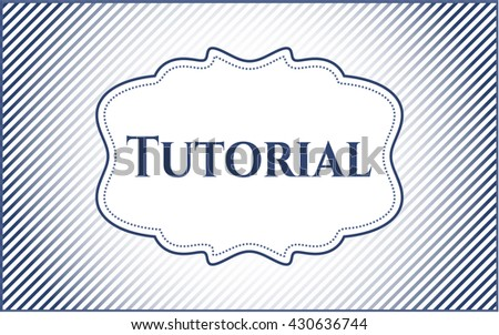 Tutorial colorful banner