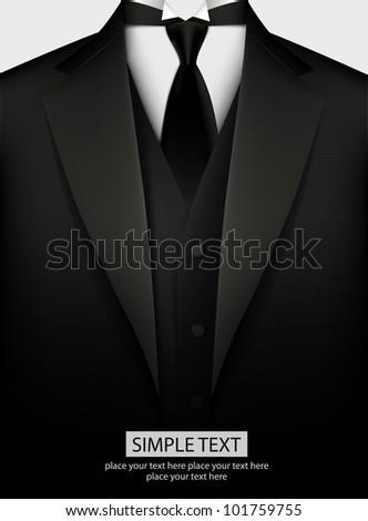 Tuxedo background