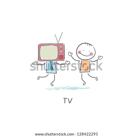 tv   friend