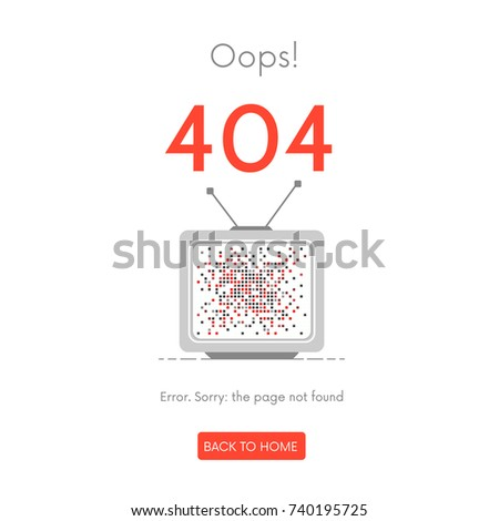 tv interference  error  page