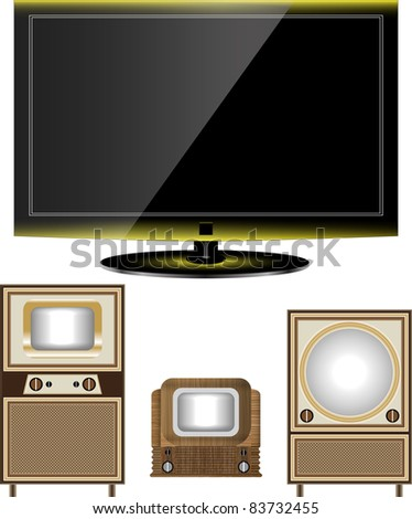tv old and new