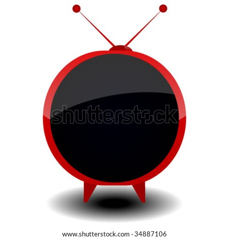 tv vector  illustration