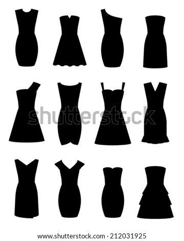 twelve little black dress