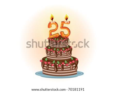 twenty five years,pie