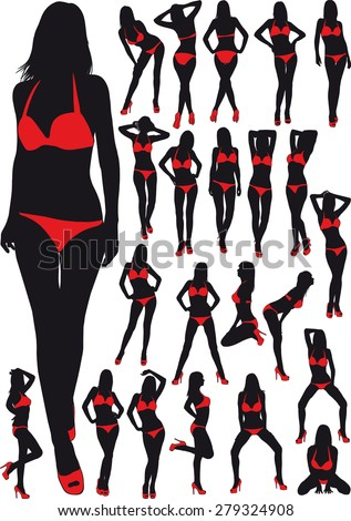 twenty three silhouette  erotic