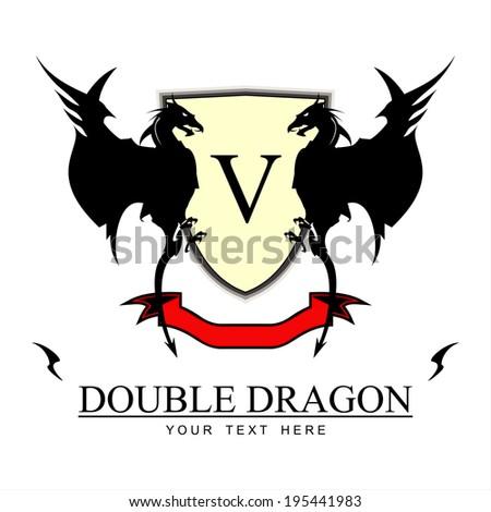 twin black dragons yellow