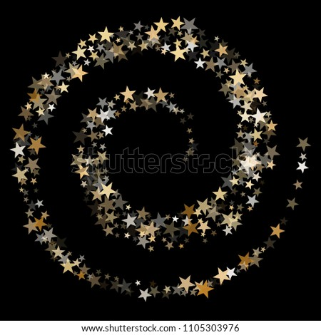 twinkle gold star dust sparkle