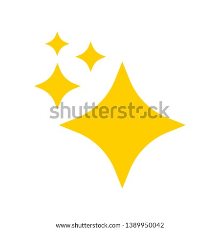 twinkling star  shine vector
