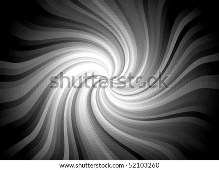 Twirl Light Burst Background