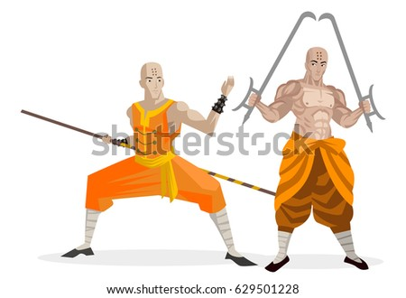 Shaolin Free Vector Art - (15 Free Downloads)