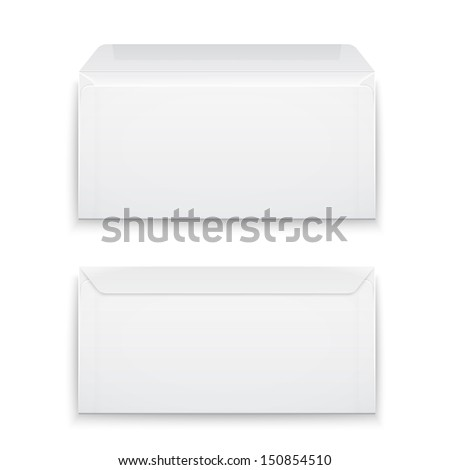 two blank envelopes   opened an