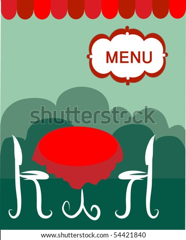 two chairs and table in a restaurant
