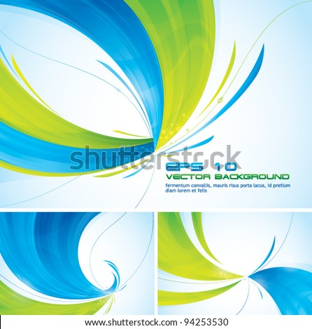 two colors abstract background