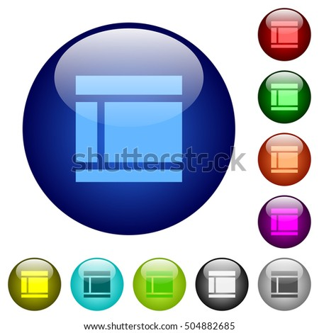 two columned web layout icons