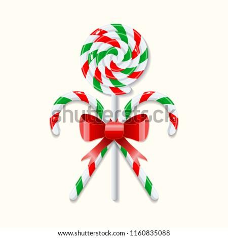 two crossed sweet christmas