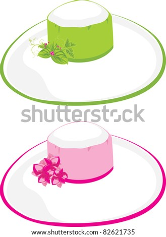 stock-vector-two-female-beach-hats-vecto