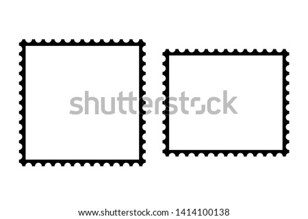 Two frames for something are depicted on a white background, one horizontally different vertically.
