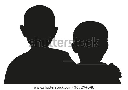 two friend together  portrait