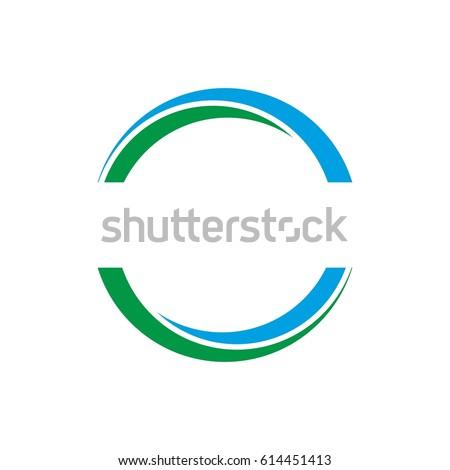 Two Half Circle Logo