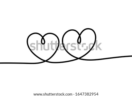 two hearts romantic continuous