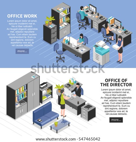 two horizontal workplace
