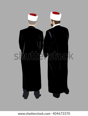 two islamic priests talk