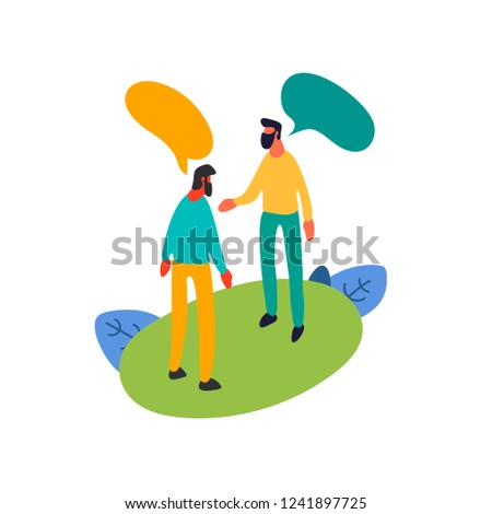 two isometric colleagues have