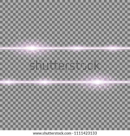 two lines with lights and