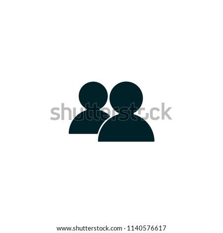 two men  avatar  profile vector