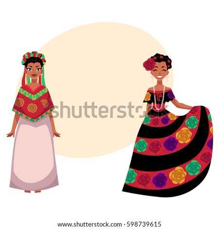 two mexican woman in