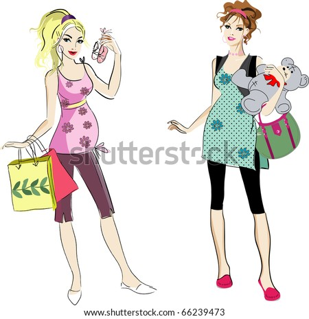 stock vector two pregnant women 66239473 ... fucked video, porn star hanna hilton, free downloadable porn video clip, ...