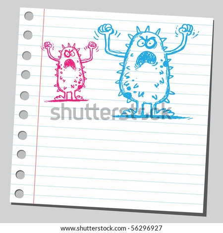 Two scribble germs