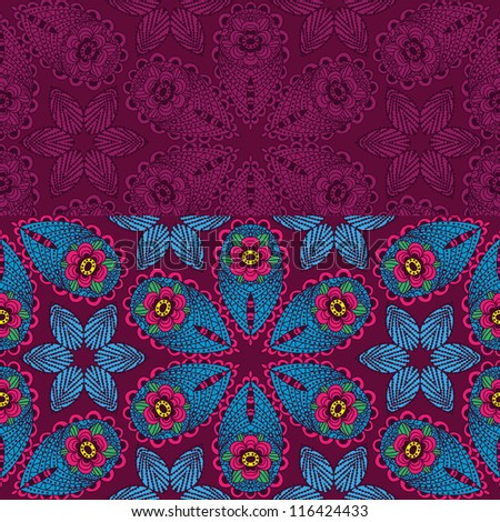 two seamless pattern for you