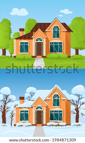 two seasons a house in the