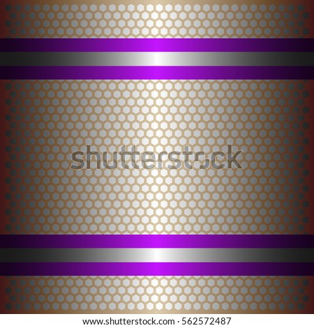 two shiny purple lines with