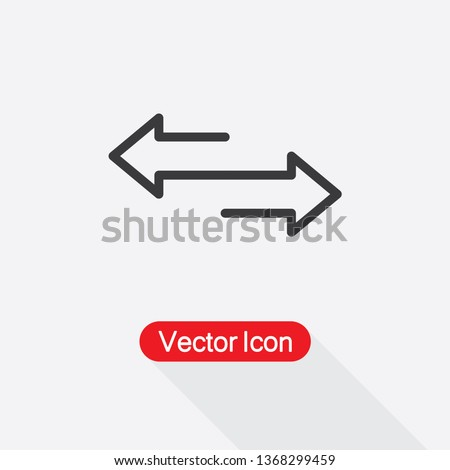 two side icon vector