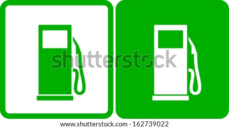 two simple green gas station