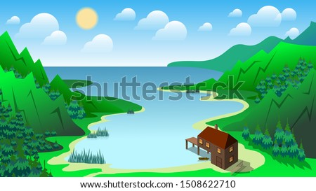 two story wooden house with a
