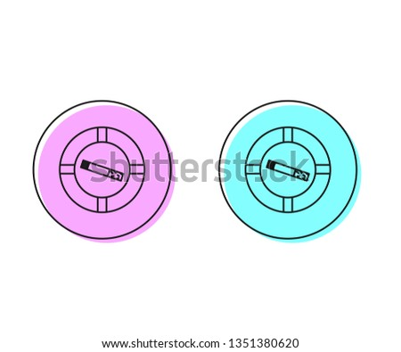 two style illustration  pink