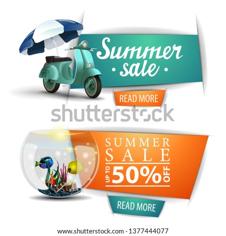 two summer sale clickable
