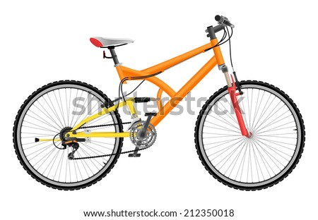 two suspension mountain bike
