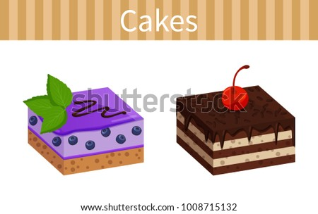 two tasty cheesecakes posters